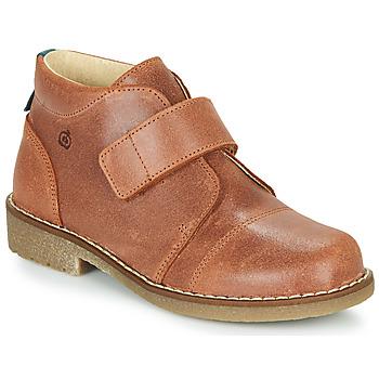 kengät Pojat Bootsit Citrouille et Compagnie LAPUPI Ruskea