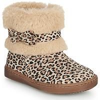 kengät Tytöt Bootsit Citrouille et Compagnie LILIFA Camel / Leopardi