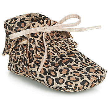 kengät Tytöt Tossut Citrouille et Compagnie LILIFI Camel / Leopardi