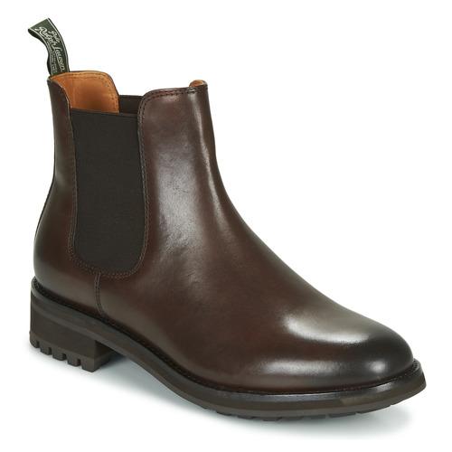 kengät Miehet Bootsit Polo Ralph Lauren BRYSON CHLS Brown