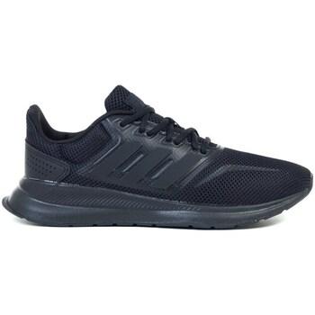 kengät Lapset Juoksukengät / Trail-kengät adidas Originals Runfalcon K Mustat