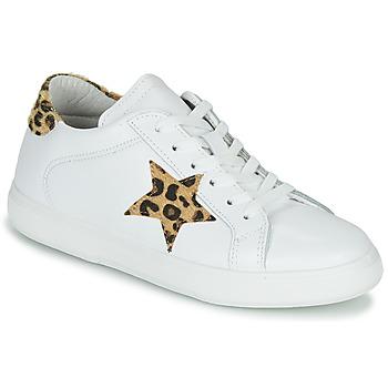 kengät Naiset Matalavartiset tennarit Yurban LAMBANE Valkoinen