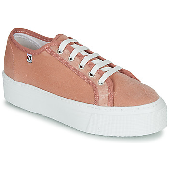 kengät Naiset Matalavartiset tennarit Yurban SUPERTELA Vaaleanpunainen