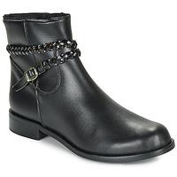 kengät Naiset Bootsit So Size OSCARDO Black