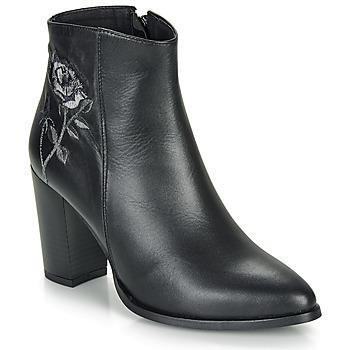 kengät Naiset Nilkkurit So Size BORDELO Black