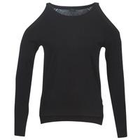vaatteet Naiset Neulepusero Guess CUTOUT Black