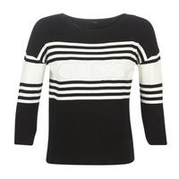 vaatteet Naiset Neulepusero Guess VIOLANTE Black / White