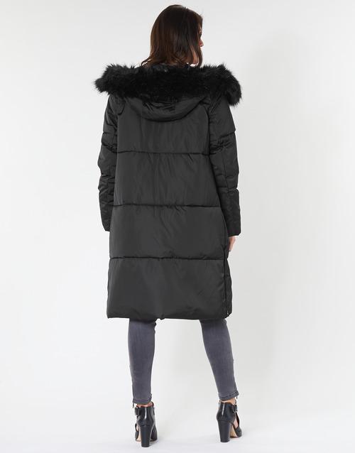 Guess Roxie Black - Ilmainen Toimitus- Vaatteet Toppatakki Naiset 165