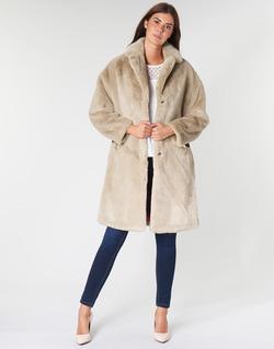 vaatteet Naiset Paksu takki Guess SHELLY Beige