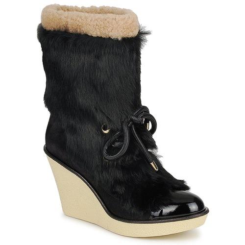 kengät Naiset Nilkkurit Sonia Rykiel HAIRY Black