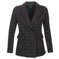 vaatteet Naiset Paksu takki Benetton SUDIDEL Black