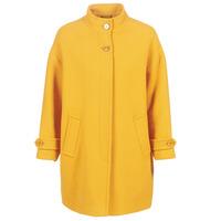 vaatteet Naiset Paksu takki Benetton STORI Yellow