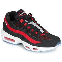 kengät Miehet Matalavartiset tennarit Nike AIR MAX 95 Black / Red