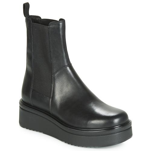 kengät Naiset Bootsit Vagabond Shoemakers TARA Musta