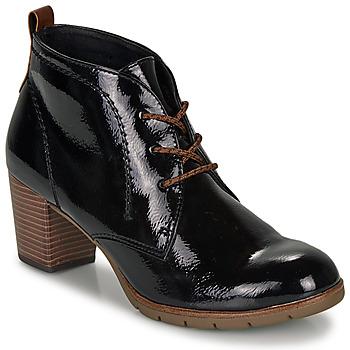 kengät Naiset Nilkkurit Marco Tozzi  Black