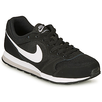 kengät Pojat Matalavartiset tennarit Nike MD RUNNER 2 GRADE SCHOOL Black / White