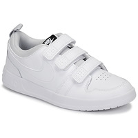 kengät Lapset Matalavartiset tennarit Nike PICO 5 GRAND SCHOOL White