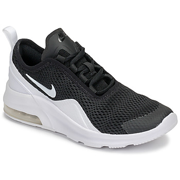 kengät Lapset Matalavartiset tennarit Nike AIR MAX MOTION 2 GRADE SCHOOL Black / White