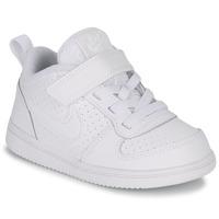 kengät Lapset Matalavartiset tennarit Nike PICO 5 TODDLER White