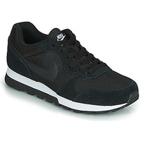 kengät Naiset Matalavartiset tennarit Nike MD RUNNER 2  W Black