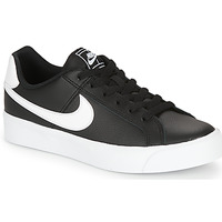 kengät Naiset Matalavartiset tennarit Nike COURT ROYALE AC W Black / White