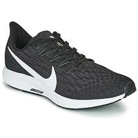 kengät Miehet Juoksukengät / Trail-kengät Nike AIR ZOOM PEGASUS 36 Black / White