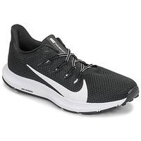kengät Miehet Juoksukengät / Trail-kengät Nike QUEST 2 Black / White