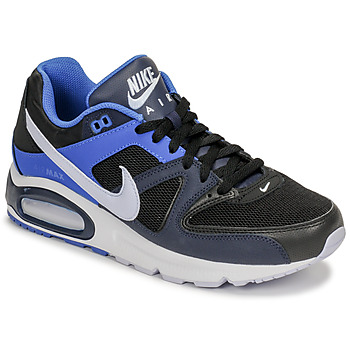 kengät Miehet Matalavartiset tennarit Nike AIR MAX COMMAND Black / Blue