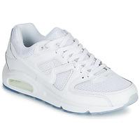 kengät Miehet Matalavartiset tennarit Nike AIR MAX COMMAND White
