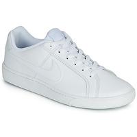 kengät Miehet Matalavartiset tennarit Nike COURT ROYALE Valkoinen