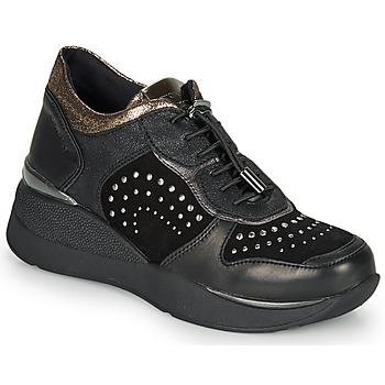 kengät Naiset Matalavartiset tennarit Stonefly ELETTRA 6 Musta