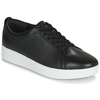 kengät Naiset Matalavartiset tennarit FitFlop RALLY Musta
