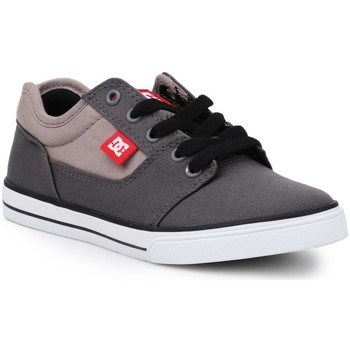 kengät Lapset Matalavartiset tennarit DC Shoes Bristol Canvas Harmaat