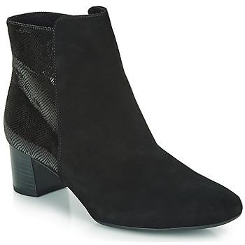 kengät Naiset Nilkkurit Peter Kaiser ODILIE Black