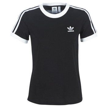 vaatteet Naiset Lyhythihainen t-paita adidas Originals 3 STR TEE Black