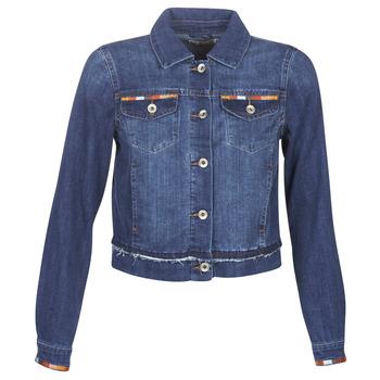 vaatteet Naiset Farkkutakki Cream DIWA Blue