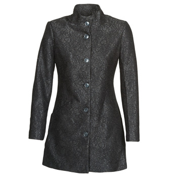 vaatteet Naiset Paksu takki Desigual SIMONE Black