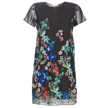 vaatteet Naiset Lyhyt mekko Desigual LORETHA Monivärinen