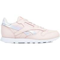 kengät Tytöt Matalavartiset tennarit Reebok Sport Classic Leather Vaaleanpunaiset