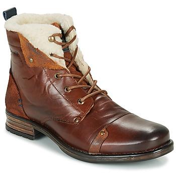 kengät Miehet Bootsit Redskins YOUDINE Brown