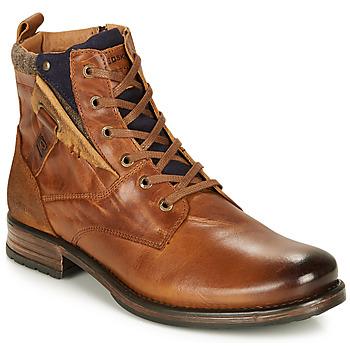 kengät Miehet Bootsit Redskins YLMAZ Cognac