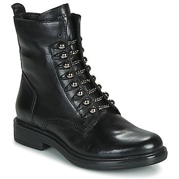 kengät Naiset Bootsit Mjus CAFE STYLE Black