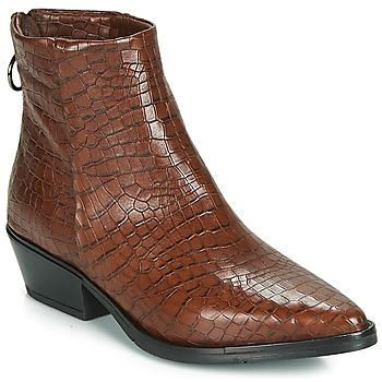 kengät Naiset Bootsit Mjus CALAMITY Brown