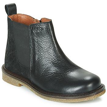 kengät Tytöt Bootsit Aster WAXOU Musta
