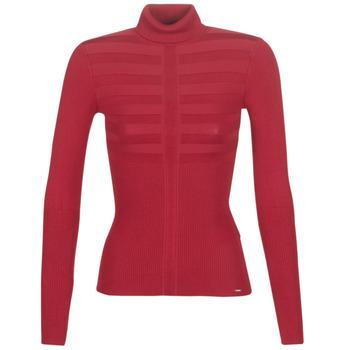 vaatteet Naiset Neulepusero Morgan MENTOS Red