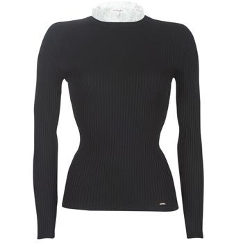 vaatteet Naiset Neulepusero Morgan MLOU Black
