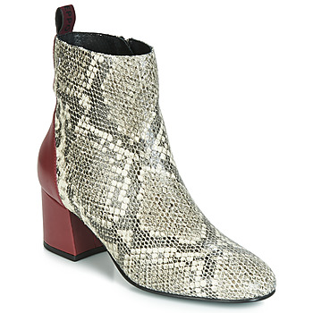 kengät Naiset Nilkkurit Gioseppo NEUBURG Python / Bordeaux