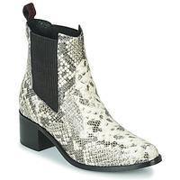 kengät Naiset Nilkkurit Gioseppo MIKKELI Black / White