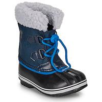 kengät Lapset Talvisaappaat Sorel YOOT PAC NYLON Sininen