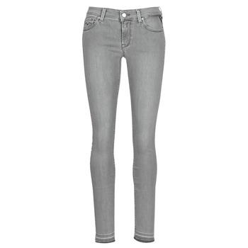vaatteet Naiset Slim-farkut Replay LUZ Grey